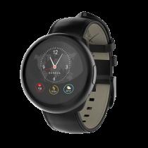 ZeRound<sup>2HR Premium</sup> - Montre connectée avec écran couleur tactile circulaire et capteur de rythme cardiaque - MyKronoz