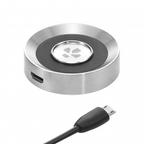 ZeTime Standard Charger - Silver -  ZeTime Standard Magnetic Contact Charger  - MyKronoz