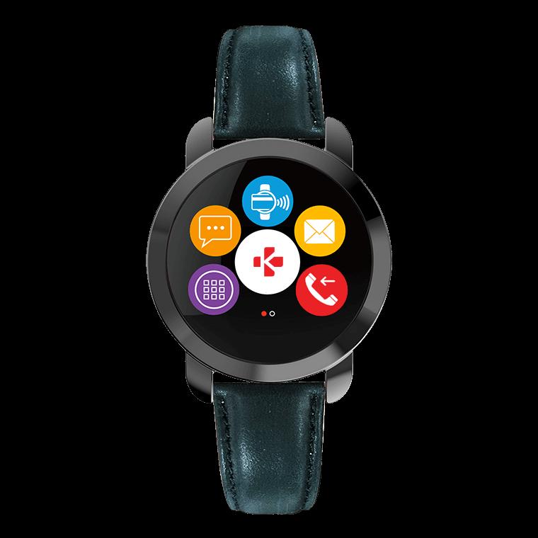 ZeCircle2 Premium - Elégant tracker d'activité avec paiement sans contact NFC* - MyKronoz