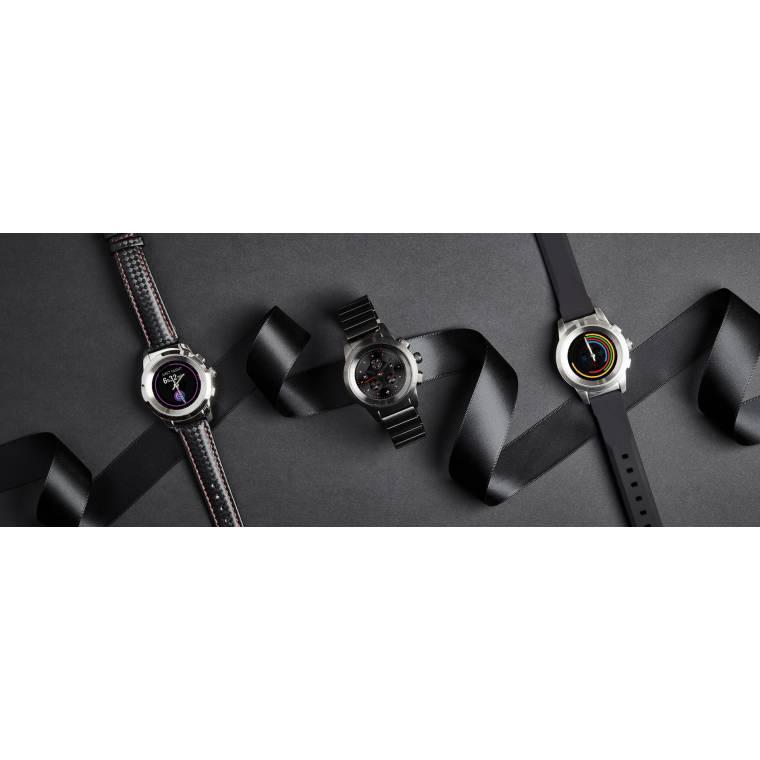 ZeTime - La première montre connectée hybride au monde alliant aiguilles mécaniques et écran couleur tactile - MyKronoz