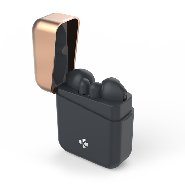 ZeBuds - ZeBuds - Écouteurs sans fil TWS avec boîtier de charge - MyKronoz