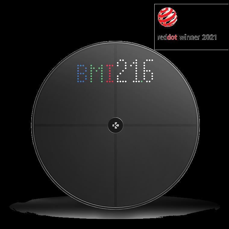 MyScale - Balance connectée Wi-Fi à écran couleur - MyKronoz
