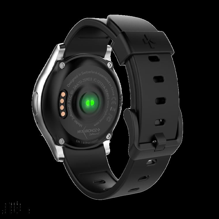 ZeRound3 - ZeRound3 - Montre connectée avec écran tactile rond AMOLED - MyKronoz