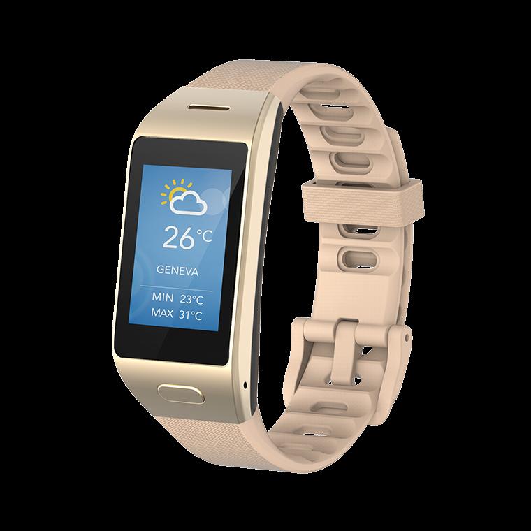 ZeNeo+ - ZeNeo+ - Montre connectée ultra-fine avec capteur de température corporelle  - MyKronoz