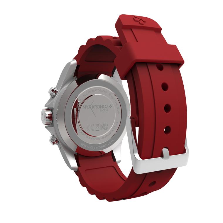 ZeClock - Montre connectée analogique avec mouvement à quartz - MyKronoz