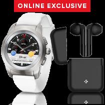 ZeTime & ZeBuds - Our hybrid smartwatch and new TWS Wireless Earbuds - MyKronoz