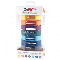 ZeFit<sup>2Pulse</sup> Wristbands x7 - Wear different colors every day - MyKronoz