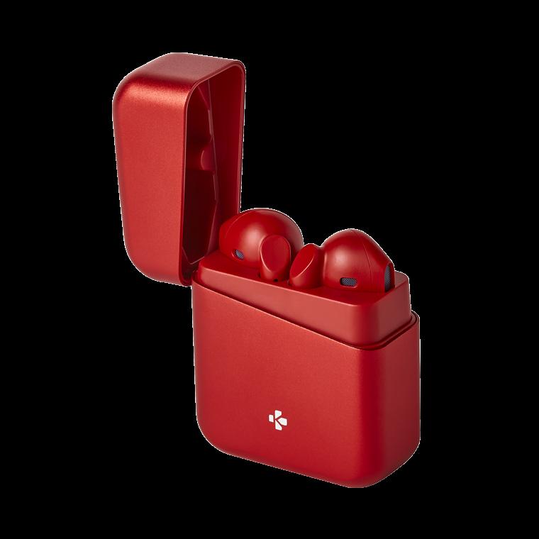 ZeBuds Premium - ZeBuds Premium - TWS Wireless Earbuds with aluminum charging case  - MyKronoz