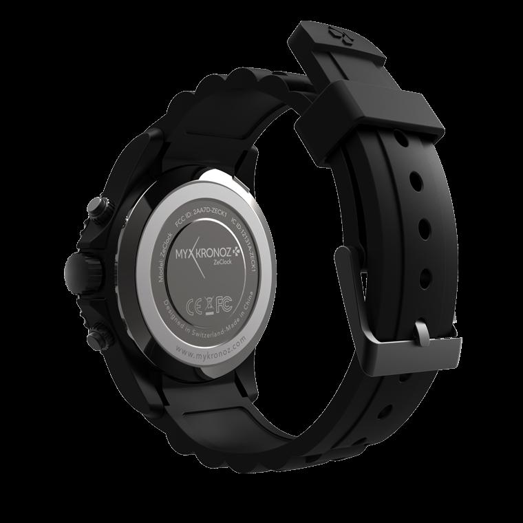 ZeClock - Swarovski Zirconia - Analog smartwatch with quartz movement - MyKronoz