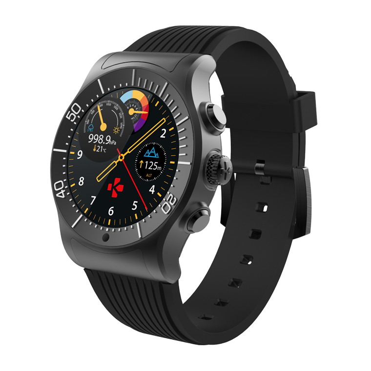ZeSport - Multisport GPS Smartwatch with sleek design