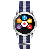 ZeCircle<sup>2 Premium</sup> - Eleganter Aktivitätstracker mit kontaktlosem Zahlen* - MyKronoz
