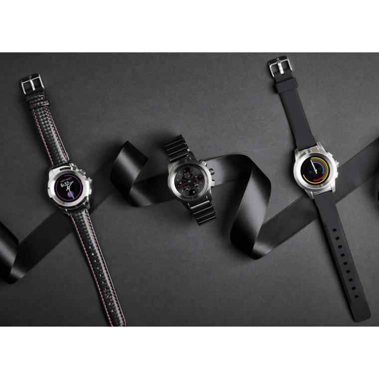 ZeTime - Die weltweit erste hybride Smartwatch mit mechanischen Zeigern und rundem Farbtouchscreen - MyKronoz