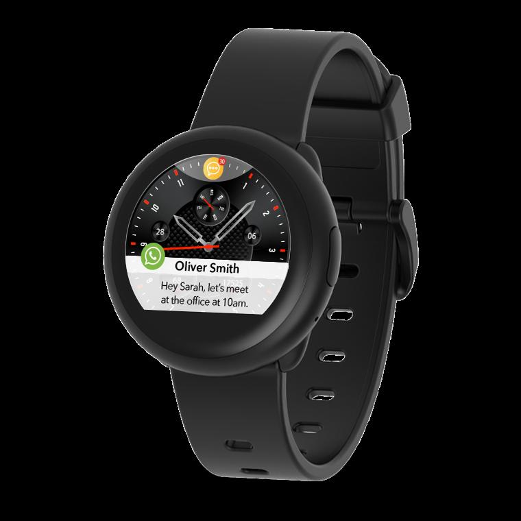 ZeRound3 Lite - ZeRound3 Lite - Stilvolle Smartwatch für Ihren aktiven Lebensstil - MyKronoz
