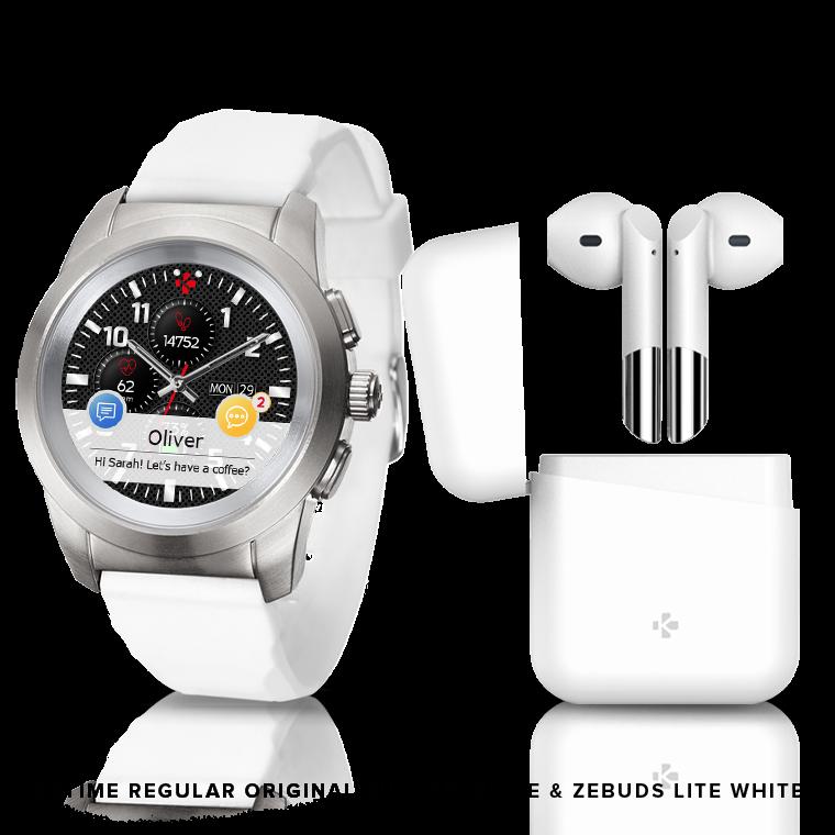 ZeTime & ZeBuds - Unsere Hybrid Smartwatch sowie unsere neuen drahtlose TWS Kopfhörer - MyKronoz