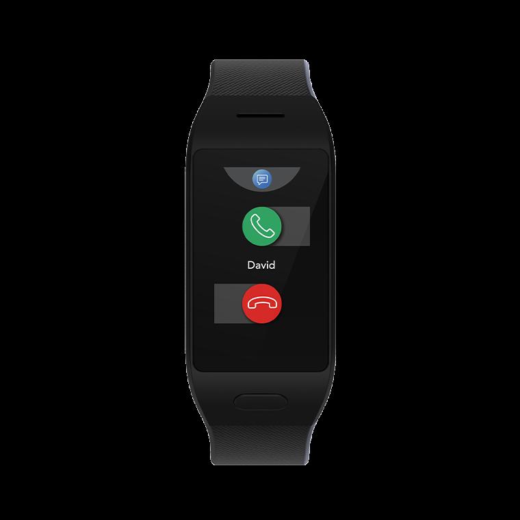 ZeNeo+ - ZeNeo+ - Schlanke Smartwatch mit Körpertemperatur Sensor - MyKronoz