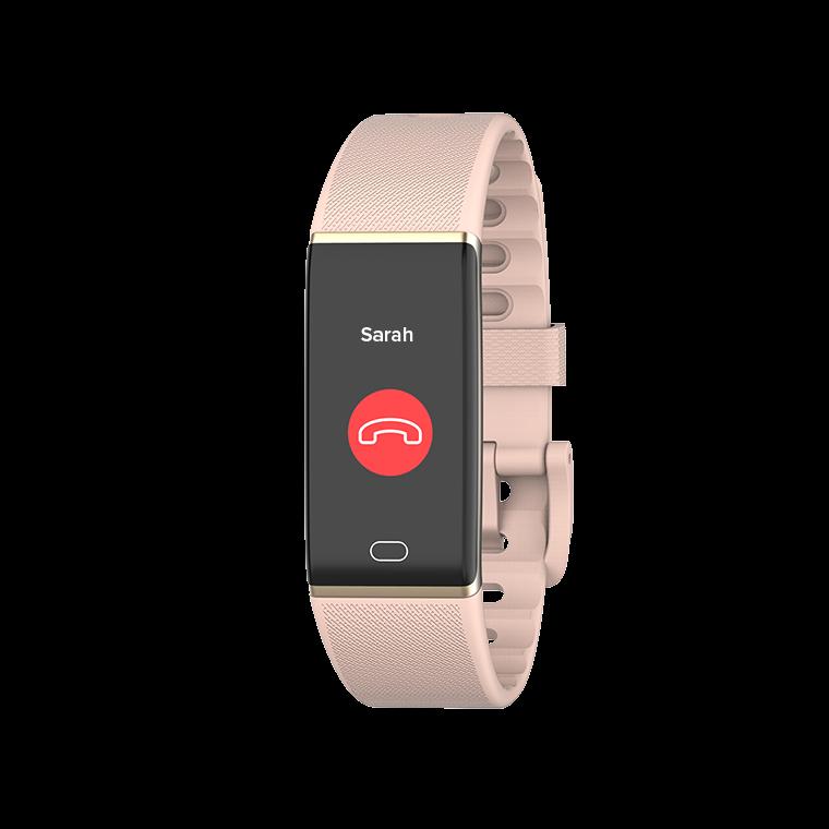 ZeTrack+ - Schlanker und voll ausgestatteter Aktivitäts-Tracker mit Herzfrequenz- und Körpertemperatursensoren - MyKronoz