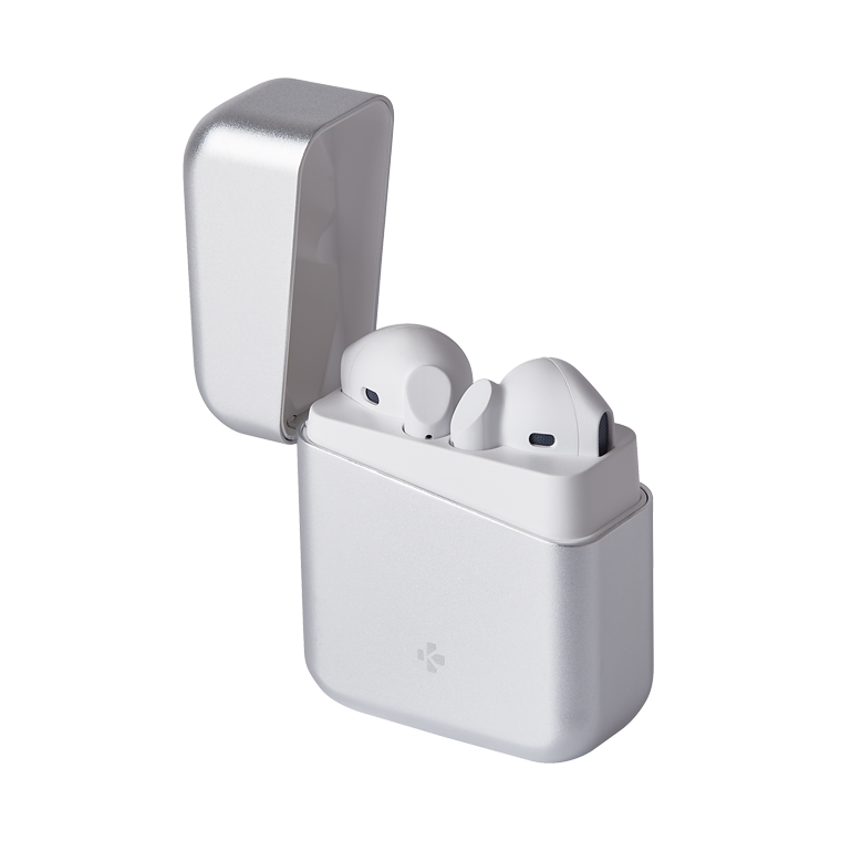 ZeBuds Premium - ZeBuds Premium –  TWS-Wireless-Ohrhörer mit Aluminium-Ladegehäuse - MyKronoz