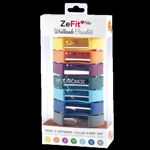 ZeFit<sup>2Pulse</sup> 七条装表带套装