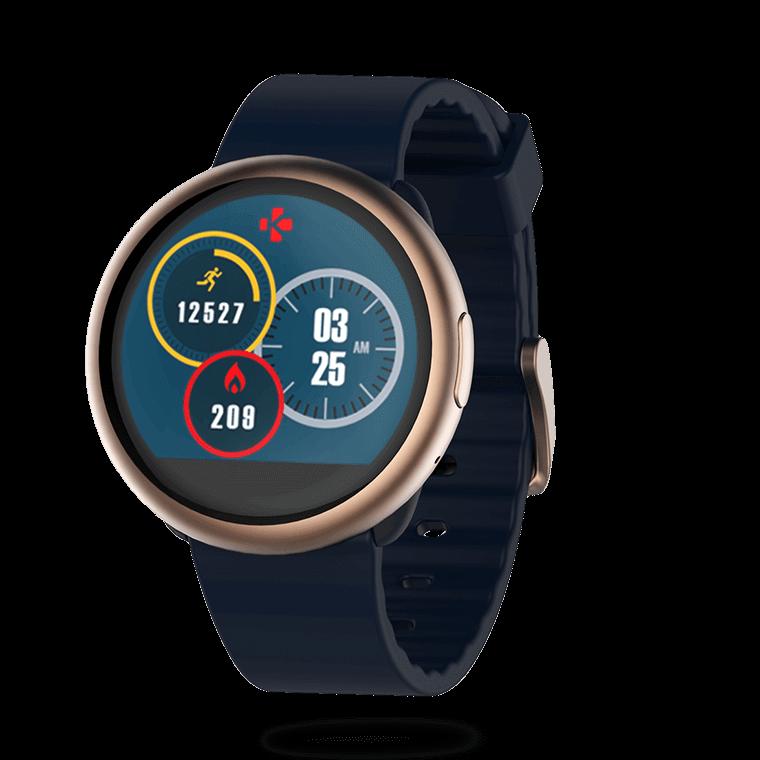 ZeRound2 - 带有圆形彩色触摸屏的智能手表 - MyKronoz