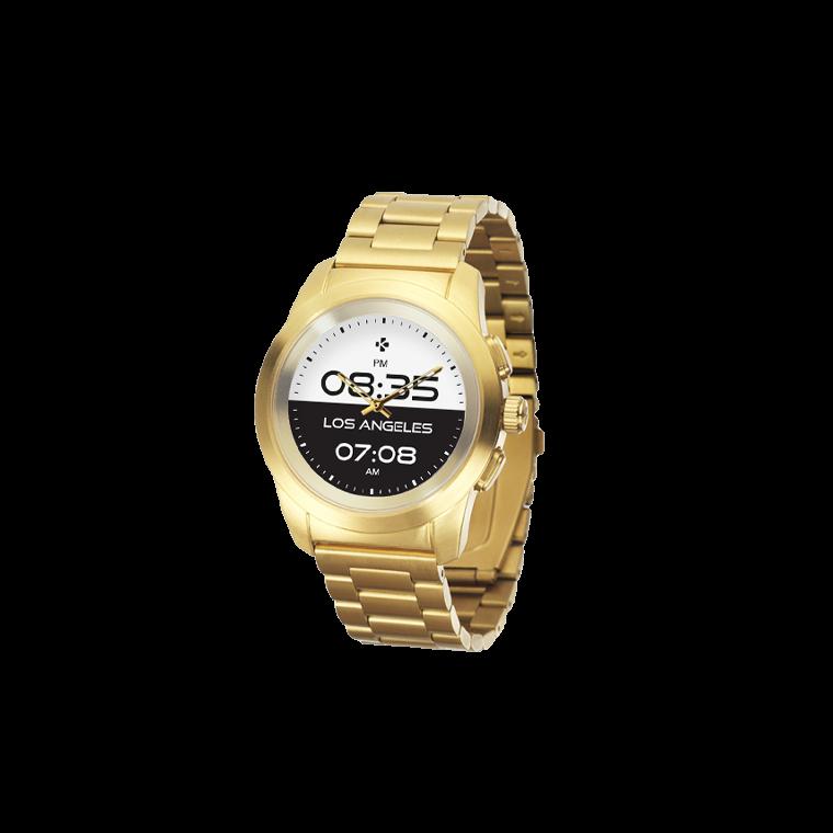 ZeTime Elite - 全球首款完美融合全彩触摸屏与机械表针的混合型智能手表 - MyKronoz