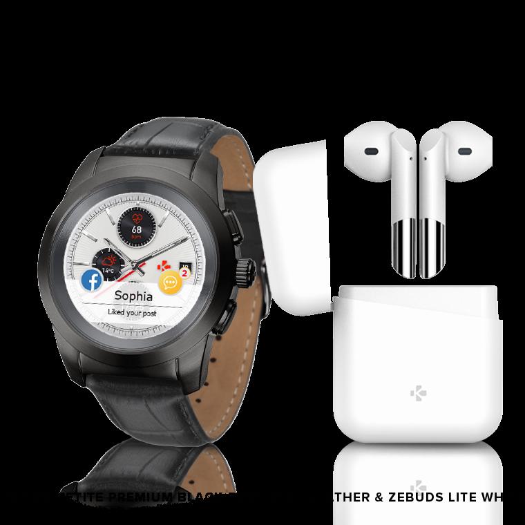 ZeTime Premium & ZeBuds - Notre montre connectée hybride Premium & nos nouveaux écouteurs sans fil TWS - MyKronoz