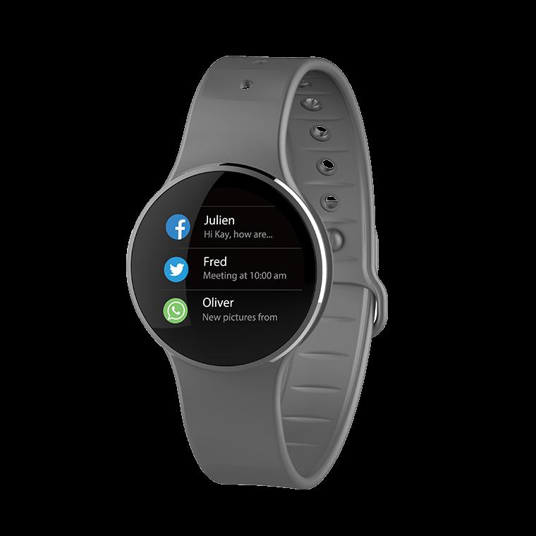 ZeCircle2 - Tracker d'activité avec paiement sans contact NFC*  - MyKronoz