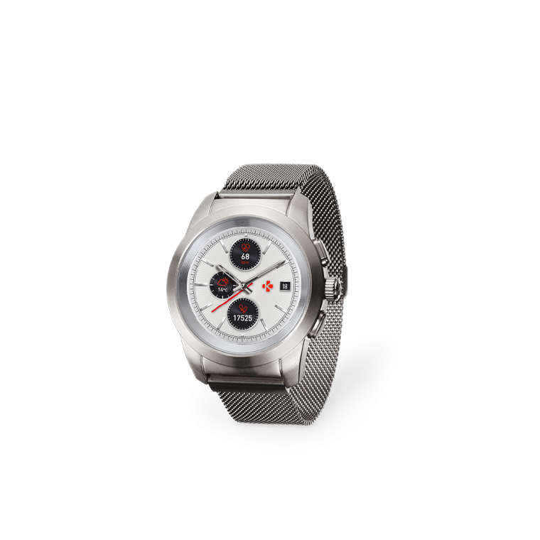 ZeTime Elite - La première montre connectée hybride au monde alliant aiguilles mécaniques et écran couleur tactile - MyKronoz
