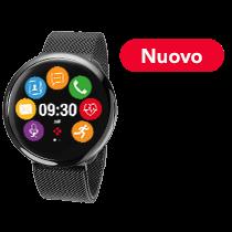 ZeRound<sup>2HR Elite</sup> - Elegante Smartwatch con schermo al tocco circolare a colori e monitoraggio del battito cardiaco  - MyKronoz