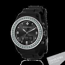 ZeClock - Swarovski Zirconia - Smartwatch analogico con movimento al quarzo - MyKronoz