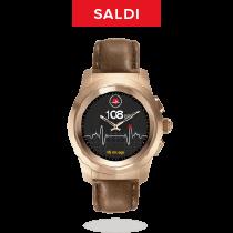 ZeTime Premium - Il primo smartwatch ibrido al mondo che abbina lancette analogiche su schermo tattile a colori - MyKronoz