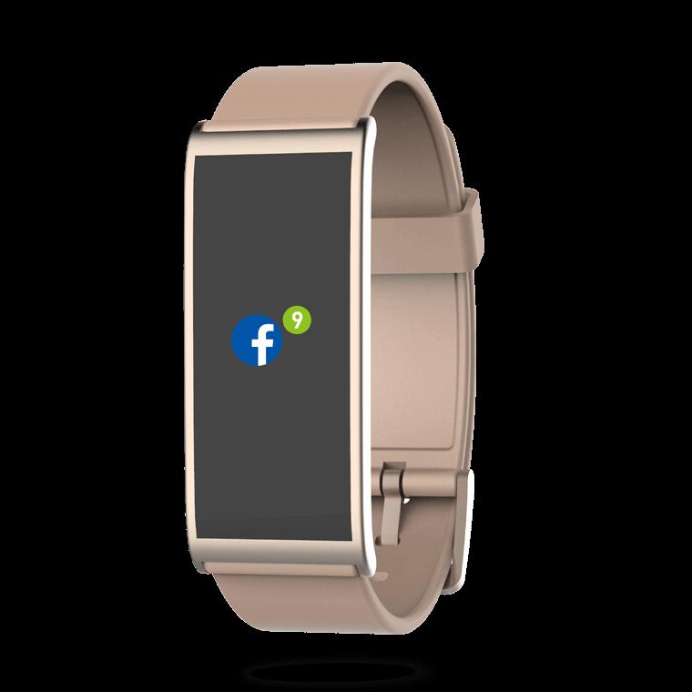 ZeFit4 - Indicatore d'attività con notifiche smartphone - MyKronoz