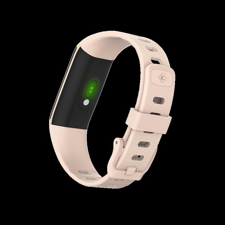 ZeTrack+ - Activity tracker ultrasottile e completo con sensori di frequenza cardiaca e temperatura corporea - MyKronoz