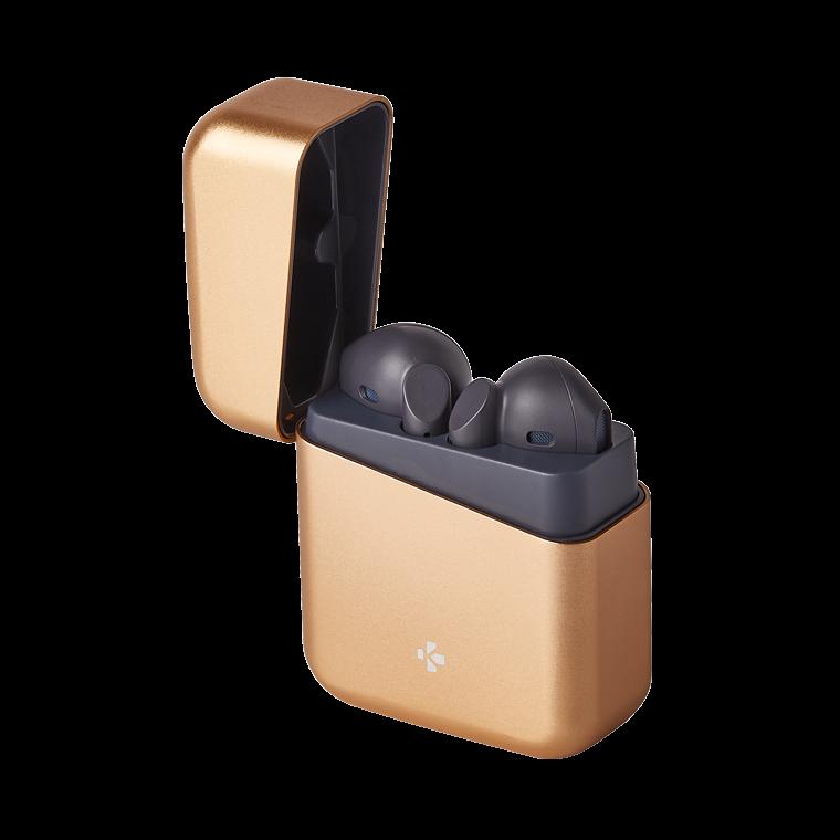 ZeBuds Premium - ZeBuds Premium - Auricolari wireless TWS con custodia di ricarica in alluminio - MyKronoz