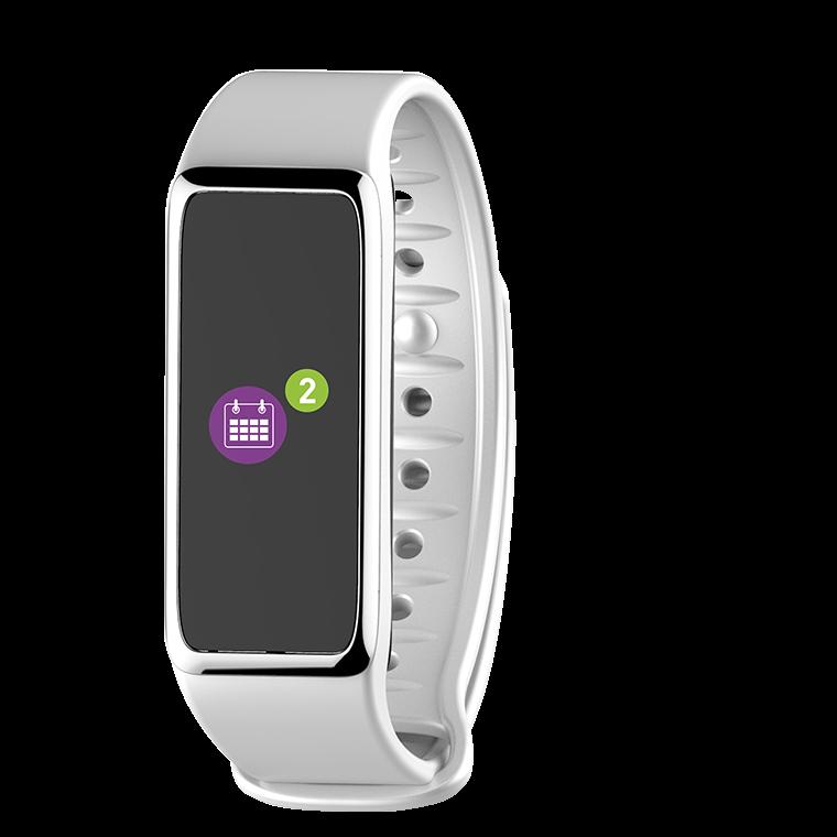 ZeFit3 HR - Tracciatore di attività con Schermo al tocco a colori e cardiofrequenzimetro - MyKronoz