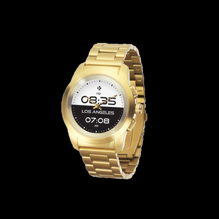 ZeTime Elite - Il primo smartwatch ibrido al mondo che abbina lancette analogiche su schermo tattile a colori - MyKronoz