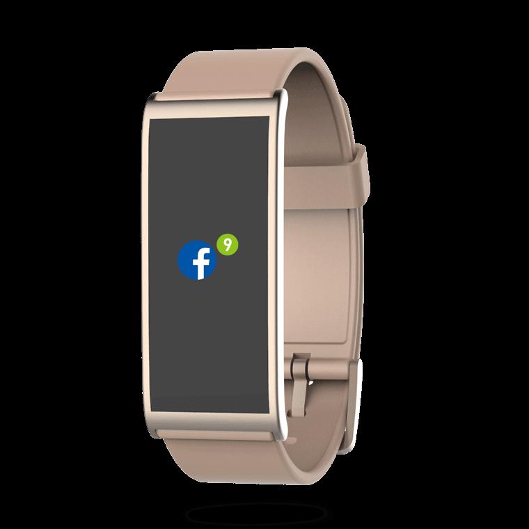 ZeFit4HR - Aktivitätstracker mit farbigem Touchscreen und Herzfrequenzmonitor  - MyKronoz