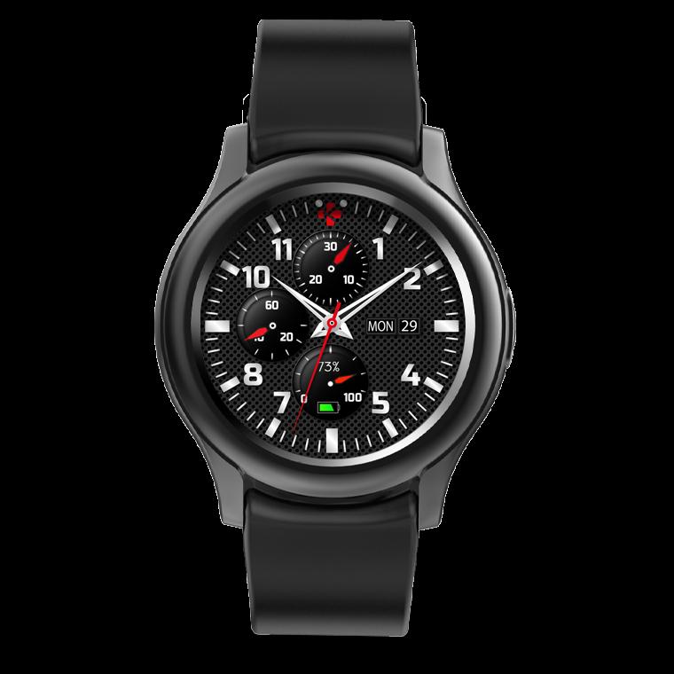 ZeRound3 - ZeRound3 - Smartwatch mit rundem AMOLED-Touchscreen - MyKronoz