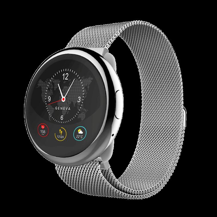 ZeRound2HR Elite - Elegante Smartwatch mit rundem Touchscreen und Herzfrequenzmonitor - MyKronoz