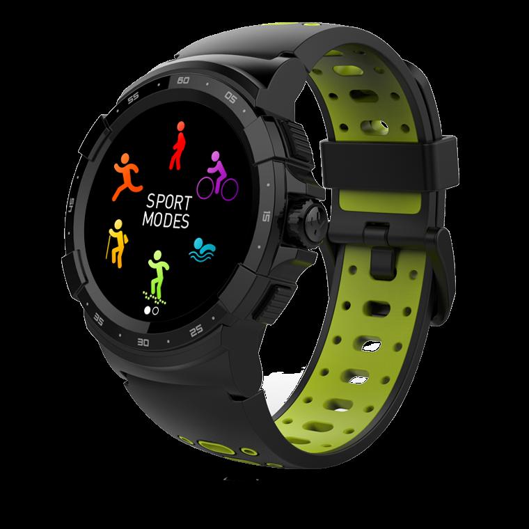 ZeSport² - Multisport GPS Smartwatch bereit auf Ihre Abenteuer jeden Tag  - MyKronoz