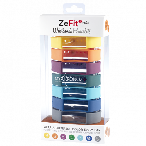 ZeFit<sup>2Pulse</sup> Braccialetti x7