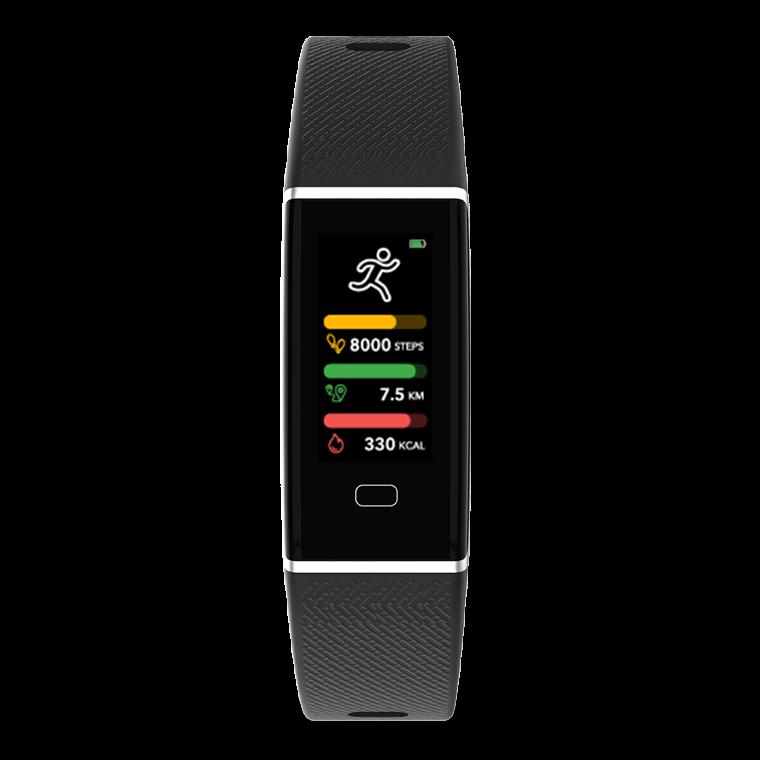ZeTrack - ZeTrack - Fitness Tracker ultrasottile e completo con sensore cardiaco - MyKronoz