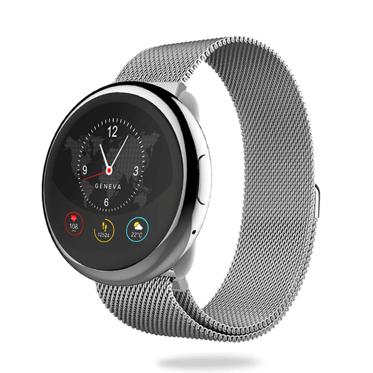 ZeRound2HR Elite - Smartwatch elegante con touchscreen circolare e cardiofrequenzimetro - MyKronoz