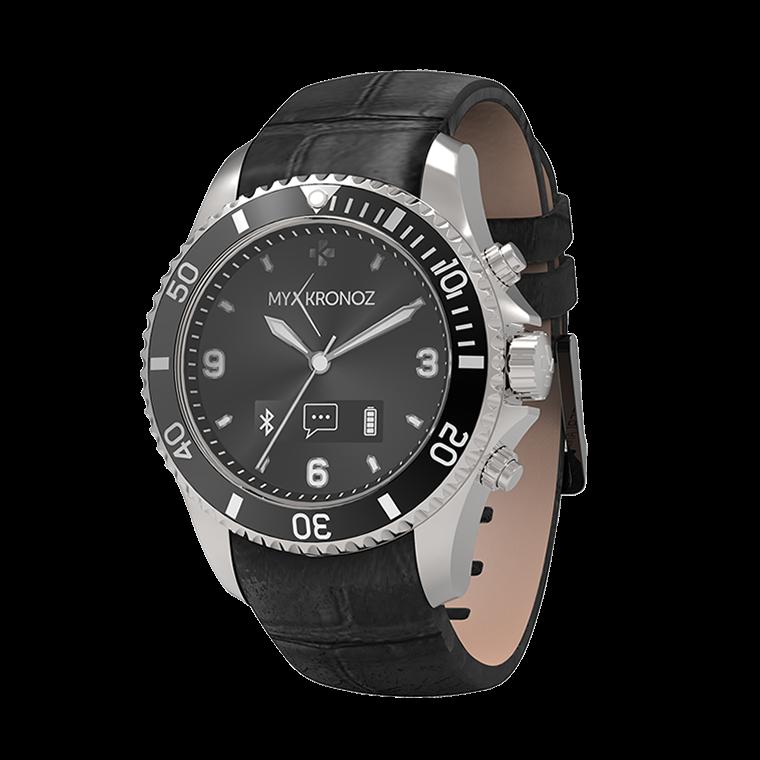 ZeClock - Premium - Smartwatch analogico con movimento al quarzo - MyKronoz