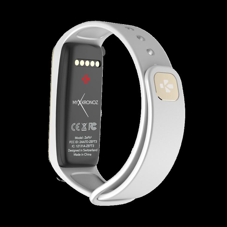 ZeFit3 - Tracciatore di attività con notifiche smartphone - MyKronoz