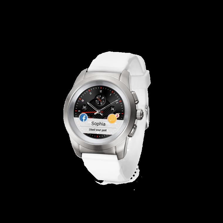 ZeTime - Il primo smartwatch ibrido al mondo che abbina lancette analogiche su schermo tattile a colori - MyKronoz