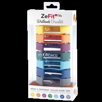 ZeFit<sup>2Pulse</sup> Wristbands x7 - 毎日違う色でスタイリング可能 - MyKronoz