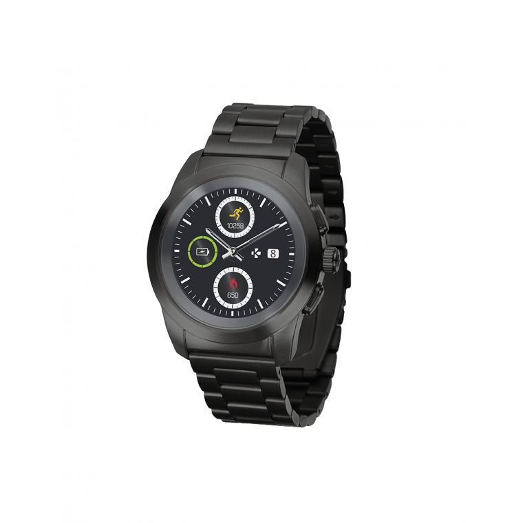 ZeTime Elite - 世界初のハイブリッドスマートウォッチ時計本来の針とカラータッチスクリーン - MyKronoz