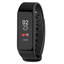 ZeFit<sup>3 HR</sup> - Activity tracker with color touchscreen & heart-rate monitor  - MyKronoz