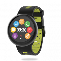 ZeRound<sup>2HR Premium</sup> - Smartwatch with circular color touchscreen and heart-rate monitor - MyKronoz