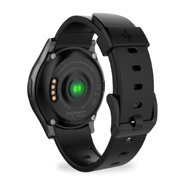ZeRound3 - ZeRound3 - Smartwatch with full round AMOLED touchscreen - MyKronoz